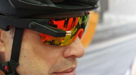 High-Performance Smart Glasses - The Solos Smart Glasses Add Data to Cyclists' Field of Vision