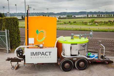 Food Waste Energy Converters - The Horse Project is a Machine That Converts Food into Renewable Fuel
