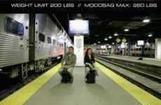 Ride-On Luggage Bags - The 'Modobag' is a Motorized Piece of Carry-On Luggage That You Can Ride