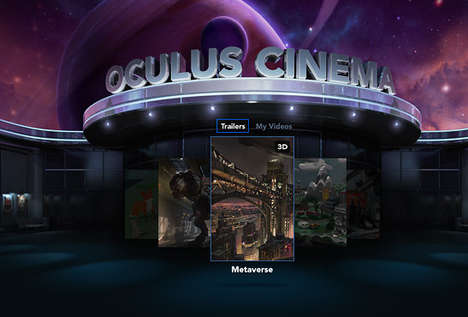 Cinema-Simulating Headsets - This VR Application Recreates the Movie Theater Experience at Home