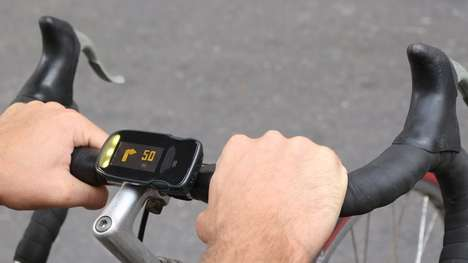 Bicycle Handlebar Computers - The Haiku Bike Computer Aids in Navigation and Communication