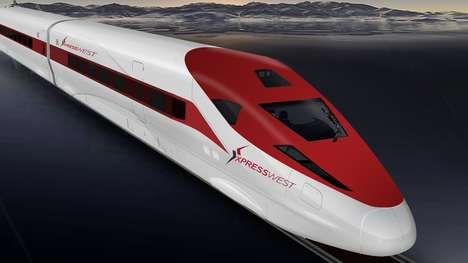 High-Speed American Trains - This High-Speed Rail Link Will Connect Los Angeles and Las Vegas