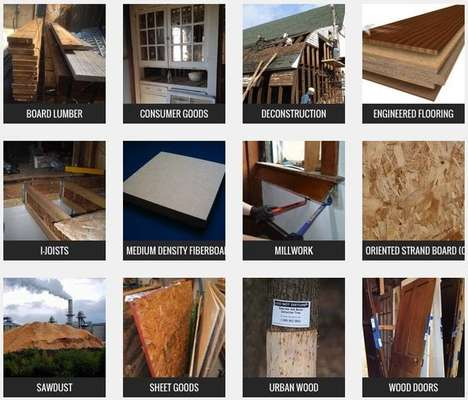 Wood-Saving Websites - This Online Resource Helps Consumers Recycle Scrap Lumber