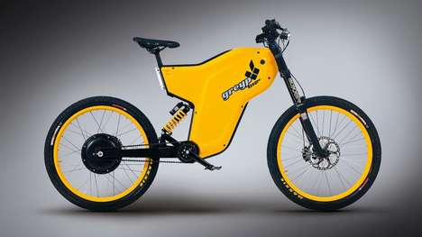 Redesigned Electric Bikes - The Greyp G12S Features Revised Geometry and a Lighter Battery Module