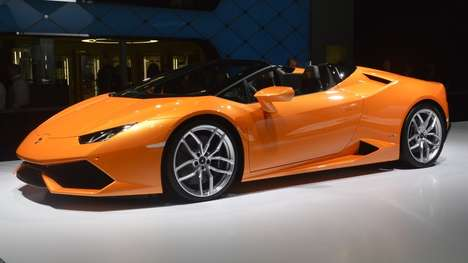Hurricane-Inspired Cars - The Lamborghini Huracan Spyder Generates High Levels of Downforce