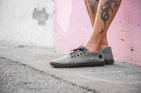 Urban Wool Sneakers - These Woollen Sneakers from Baabuk Can Be Worn Without Socks