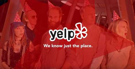 Peer-Reviewed App Commercials - The New Yelp Ad Shows You How to Escape Oddball Situations