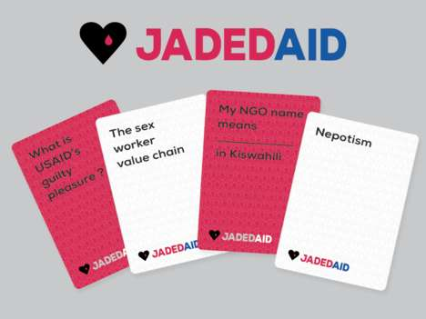 Satirical Humanitarian Games - This Social Game Laughs at the Quirks of the Aid Work World