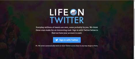 Social Media Analysis Apps - 'Life on Twitter' Analyzes Tweets to Form Twitter Behavior Insights