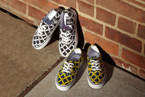 Co-Branded Graphic Sneakers - The Opening Ceremony x Vans Fall Sneakers Feature a Quirky Hand Print