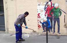 This Street Artist Painted a Picture of His Work Getting Erased