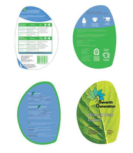 Peelable Detergent Logos - Seventh Generation Detergent Packaging Features Stick-On Promotions