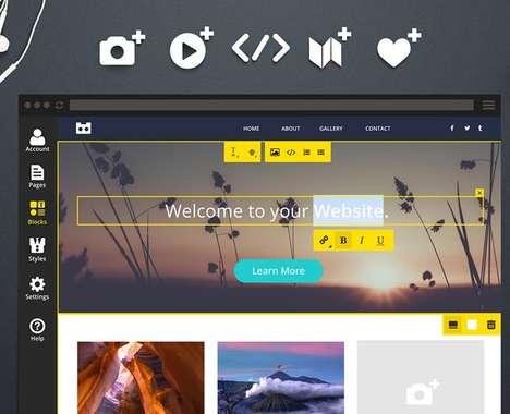Simple Website-Building Tools