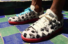 Money-Patterned Singer Sneakers