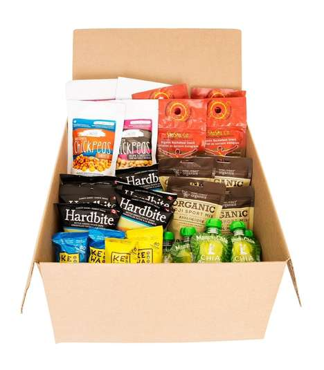 Office Snack Subscriptions - 'Munch Better' is a Snack Subscription Service That Emphasizes Health