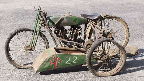 Classic Motorbike Sidecars - This Harley-Davidson Sidecar and Motorbike is a Rare Find