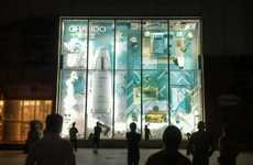 Chando's Retail Window Display Recreates a Stylish Woman's Apartment