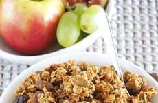 Festive Pumpkin Granolas - The Spiced Pumpkin Raisin Granola is a Healthy Homemade Cereal