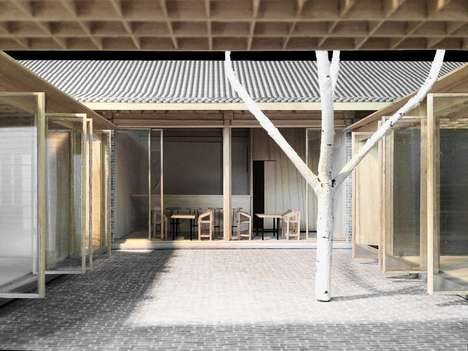 Revamped Courtyard Designs - This Abandoned Courtyard Received a Facelift from Vector Architects