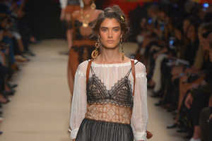 The Alberta Ferretti Spring/Summer Line Sparks an Ethereal Nature Theme