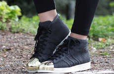 Gold-Tipped Sneakers