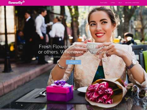 Global Flower Deliveries - This Company Connects Users with Local Florists Around the World