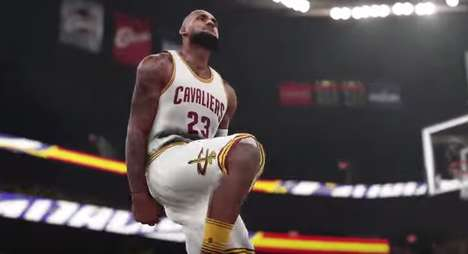 Lifelike Video Game Trailers - The New NBA 2K16 Trailer Gets Fans Pumped for the Upcoming Season