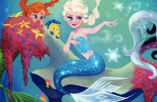 Role-Swapped Disney Princesses