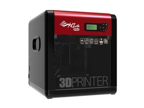 Professional 3D Printers - The Da Vinci Professional Printer is Targeted Towards Businesses