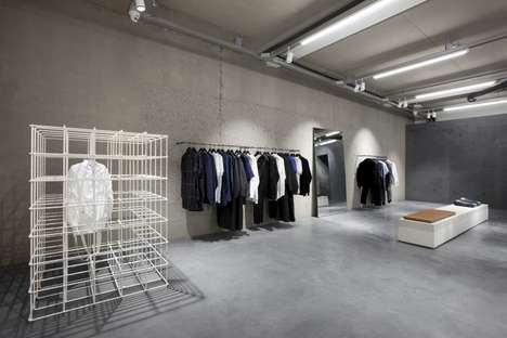 Caged Unisex Fashions - The ETQ Amsterdam Store Boasts an Austere Interior Decor