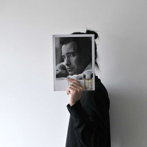 Face-Covered Portraits - Aaron Lee Creates Unusual Portraits with Prints of Familiar Faces