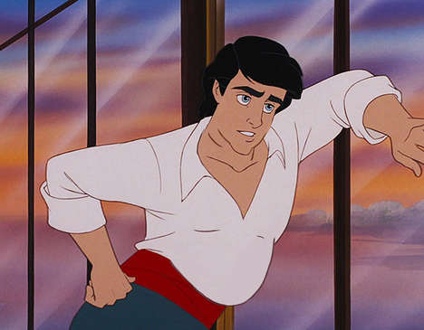 Pot-Bellied Disney Princes - These Illustrations Depict the Iconic Princes with Realistic Bodies