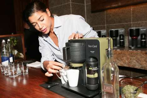 Matcha-Brewing Machines - This Device Helps Tea Lovers Make Delicious Drinks at Home