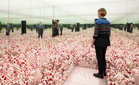 Dot-Themed Art Exhibits - This Exhibit Celebrates Renowned Artist Yayoi Kusama's Body of Work