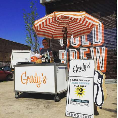 Southern Cold Brew Carts - Grady's Cold Brew Brings the Taste of New Orleans to Brooklyn