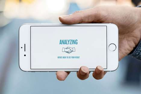 Handshake-Analyzing Apps - This Advertising Week App Helps Users Achieve the Perfect Handshake