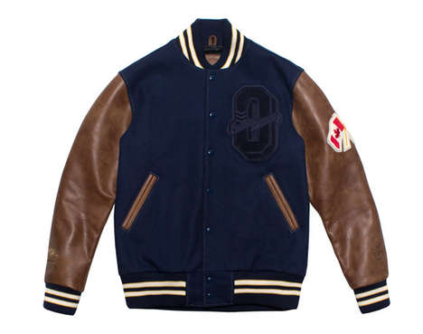 Rap Star Varsity Jackets - The Ovo X Roots Canada Collaboration Continues for Another Edition