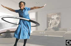 Air-Purifying Hula-Hoops - This Smart Hula-Hoop by Quadruple H Encourages Health & Wellness