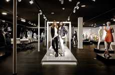 Runway Mannequin Displays - This Genesis Mannequin Fashion Display Creates a Dynamic Catwalk