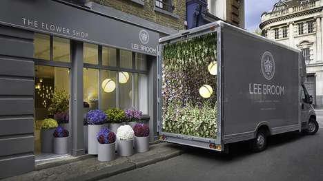 Pop-Up Flower Shops - This Artist Created a Conceptual Store Filled with Gorgeous Floral Displays