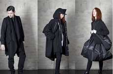 Avant-Garde Outerwear Collections - Esther Perbandt's Fall Collection Features Window-Pane Pockets