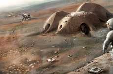 3D-Printed Martian Shelters