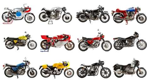 Spectacular Motorcycle Auctions - This New Zealand Auction Features Several Legendary Motorbikes
