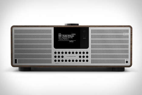 Music Streaming Radios - The Revo SuperSystem Features a Retro Design with Spotify Connect