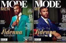 Nigerian-Themed Magazines - The September Issue of Mode Men Magazine Features a Nigerian Influence