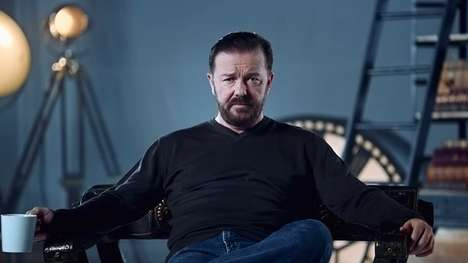 Satirical Comedian Ads - These Anti-Ads by Optus Feature Sarcastic Comedian Ricky Gervais