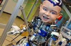 Baby-Faced Robots - The Diego-San Robot Analyzes Why Infants Smile
