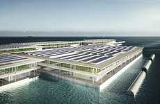 Triple-Decker Floating Farms