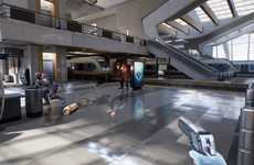 Virtual Teleportation Games - Epic Games' Bullet Train Game Lets You Teleport in Virtual Reality