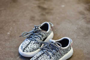 These Yeezy Baby Boost Sneakers are Adorable and Stylish